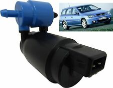 Front & Rear Windscreen Washer Pump Vauxhall Astra Estate 1998 > 2004 G Mk4
