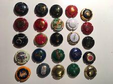 Pour collectionneur: 25 capsules muselets champagne...