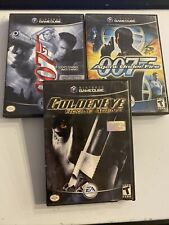 James Bond 007 Agent Under Fire & Everything or Nothing Goldeneye Gamecube Lot