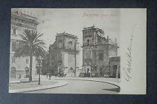 CARTOLINA PALERMO PORTA FELICE VIAGGIATA DEL 1900 SUBALPINA AAA