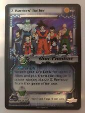 Dragon Ball Z DBZ CCG #157 Z Warriors Gather Ultra Rare Card 2001 Cell Saga