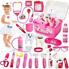 HERSITY 32 Stück Arztkoffer Kinder Medizinisches Spielzeug Doktor Set