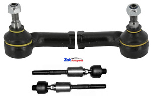 FOR ALFA ROMEO 147 156 OUTER TRACK TIE ROD ENDS AND INNER STEERING RACK ENDS