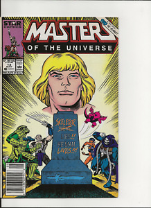 Masters of the Universe no. 13, Star Comics/Marvel, 1986, F/VF