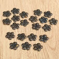 50Pcs 19mm Plum Flower Upholstery Nails Antique Jewelry Box Tack Stud Protector