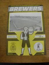09/03/1986 Burton Albion v Workington  (folded, team changes). Unless previously