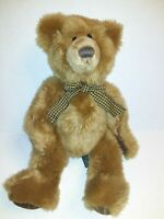 "Russ Brown Geoffrey Bear 13"" Plush Stuffed Animal"