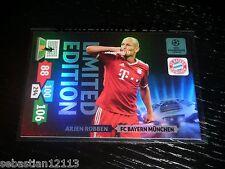 Champions League 2013/2014 Adrenalyn XL Arjen Robben Limited Edition
