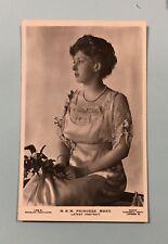 Vintage Postcard RPPC - H.R.H. Princess Mary England - Unposted Beagles
