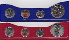 2012 P & D Partial US Mint Set - 50¢, 10¢, 5¢ and 1¢ -  8-Coins In Mint Cello BU