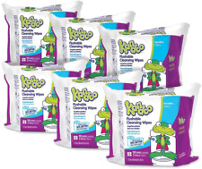 Flushable Wipes for Baby and Kids by Kandoo, Unscented for Sensitive Skin, Hypoa