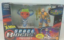 X-Men Space Riders Professor X Space Sled Battle Cruiser Toybiz Figure Toy