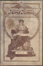 Ford Times Jun 1917 Vol. 5 No. 11 UK issue Petrol Consumption, Welfare Work +