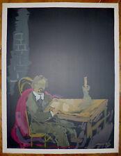 Mané-Katz Emmanuel Lithographie Mourlot Amedeo Modigliani et Chaïm Soutine