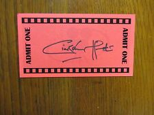 """CIARAN HINDS(""""Harry Potter/Tinker Tailor Soldier Spy"""") Signed 3 x 5 1/2 Red Card"""