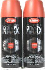 2 Krylon 12 Oz Super Maxx 8975 Satin Brick Superbond Technology In Outdoor Spray