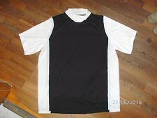 Fahrradtrikot Fitnesshirt Laufshirt Cube Gr. M schwarz/weiß