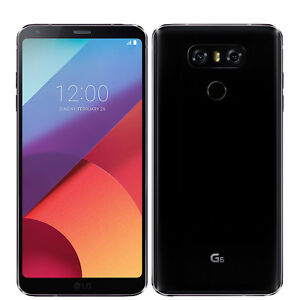 "BNIB 5.7"" LG G6 H870 32GB Astro Black Android Factory Unlocked 4G/LTE OEM Boxed"