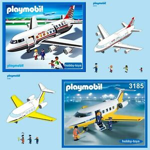 Playmobil 3185 3352 4310 5954 AIRPORT JET AEROPLANE PLANE * SPARE PARTS SERVICE