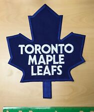 TORONTO MAPLE LEAFS Jersey  70's Crest Vintage Large NHL Embroidered