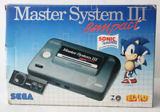 VERY RARE VINTAGE 90'S SEGA MASTER SYSTEM III COMPACT CONSOLE TEC TOY NEW NOS !
