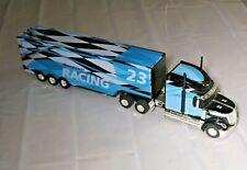 """Semi Truck RC More Power Racing 23 Teal and Black 1204121 Missing Remote 24"""""""