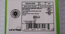 Leviton Odc04-Idw 450 Sq. Ft. Ceiling-Mount Occupancy Sensor