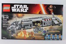 LEGO 75140 STAR WARS TFA RESISTANCE TROOP TRANSPORTER New Sealed Retired