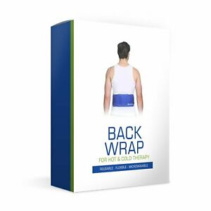 Back Wrap for Hot & Cold Therapy Reusable Flexible Microwavable