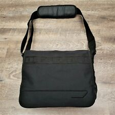 Diesel Messenger Bag Canvas Spare Parts Black