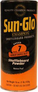 Sun-Glo Speed #7 Shuffle Alley Shuffleboard Table Powder Wax - 1 Can