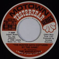 MARVELETTES: My Baby Must Be A Magician /  Hunter Gets Captured MOTOWN Soul 45