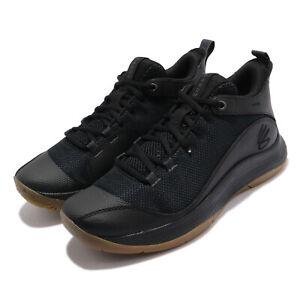 Under Armour 3Z5 UA Curry Fuego Black Gum Men Basketball Shoes 3023087-003