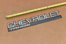 1995 1996 1997 1998 1999 2000 Chevrolet Tahoe Rear Barn Door Tail Gate Emblem