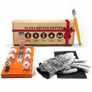Paquete cortador botellas y cortador vidrio-Accesorios Kit herramientas,guantes