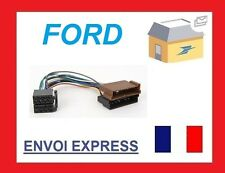 FORD COURIER CROWN EXCURTION KA ADAPTATEUR CABLE ISO WIRING HARNESS AUTORADIO