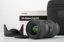 Sigma AF 18-35mm 1,8 DC ART Pentax  SHP 63282