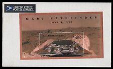 USA foglietto Mars Pathfinder  $ 3 confezione USA Post