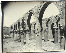 GRANDE PHOTO LIBAN  ZANGAKI ruines de mosquée BALBEK EG21