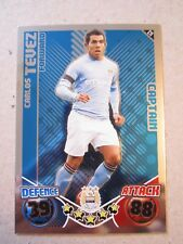 Match Attax 2010/11 - Captain card - Carlos Tevez of Manchester City