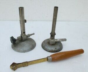 Alte Labor Brenner und Reagenzglashalter Fundstücke gebraucht