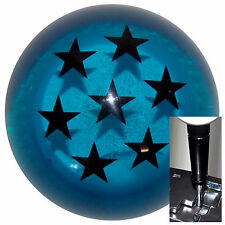 Dragon Ball Z Blue shift knob for Dodge Chrys Jeep auto stick w/ BLK Adapter