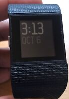 Fitbit Surge Fitness Super Watch-SMALL Black (without Accessories&Damage Straps)