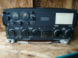 Collins Art-13 Part 344E T-47 Military Transmitter WWII U.S. Army Signal Corps
