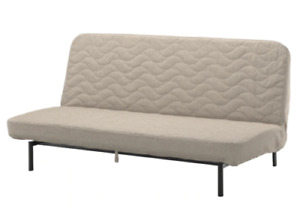 Ikea cover set for Nyhamn 3-Seater Sofa Bed in Borred Light Beige  003.442.53.