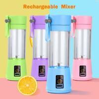 USB Rechargeable Blender Mixer Portable Juicer Smoothie Juice Machine Cup 380ml