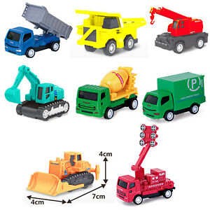 8pc Construction Set  for Kids Vehicle Children pull back toy 2+, Ideal Gifting