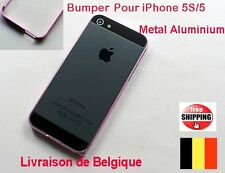 0.7mm Rose BUMPER HOUSSE COQUE EN METAL ALUMINIUM POUR IPHONE 5 5S