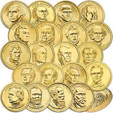 2007-2011 P or D FRIST (20)  PRESIDENT DOLLARS lot set  presidential
