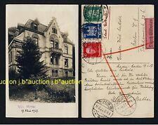 BADEN-BADEN Villa Mattar * Foto-AK um 1925 EILBOTEN FRANKATUR